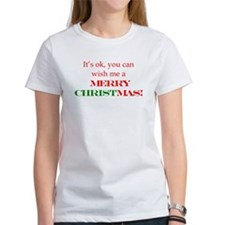 Wish me a Merry Christmas Tee