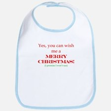 Yes, you can with me Merry Ch Bib