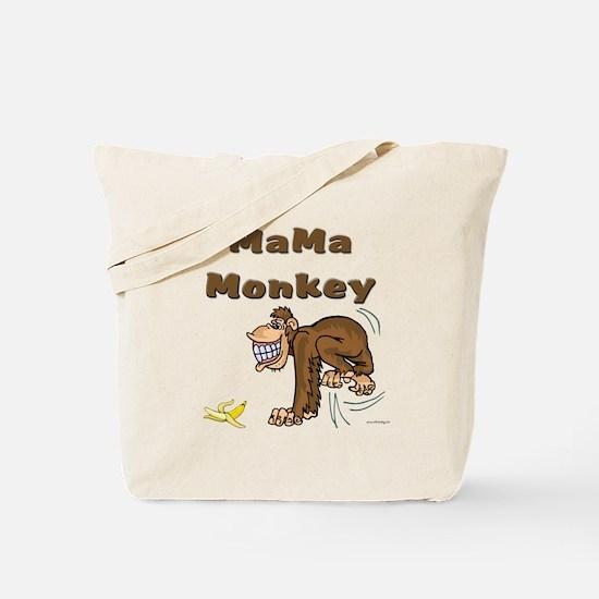 MaMa Monkey Tote Bag