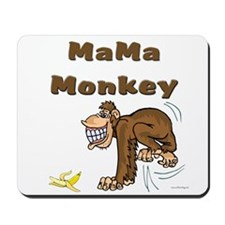 MaMa Monkey Mousepad