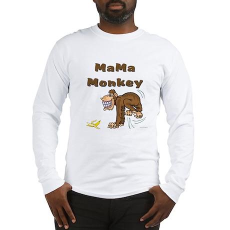 MaMa Monkey Long Sleeve T-Shirt
