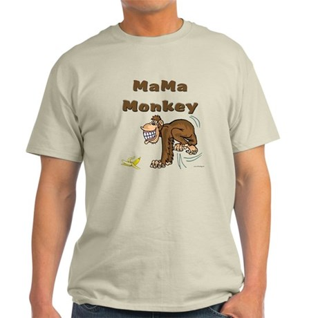 MaMa Monkey Light T-Shirt