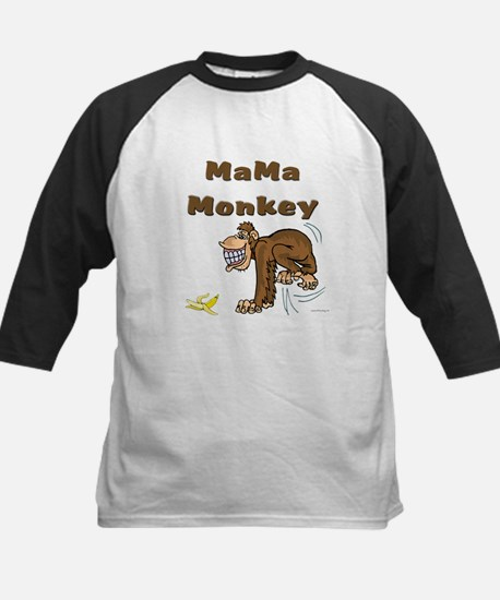 MaMa Monkey Kids Baseball Jersey