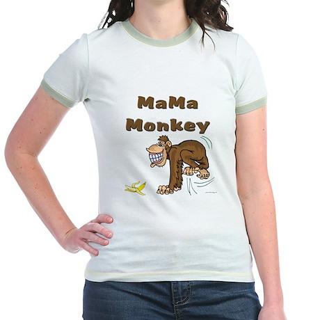 MaMa Monkey Jr. Ringer T-Shirt