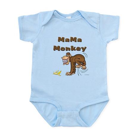 MaMa Monkey Infant Bodysuit