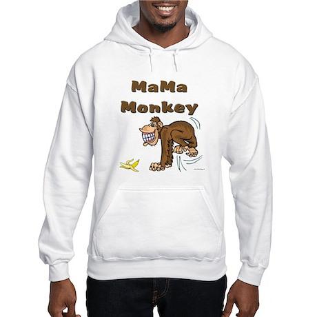 MaMa Monkey Hooded Sweatshirt