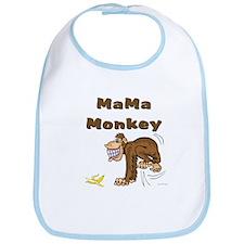 MaMa Monkey Bib