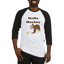 MaMa Monkey Baseball Jersey
