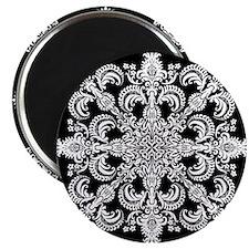 """Fleur Meditation 2.25"""" Magnet (100 pack)"""
