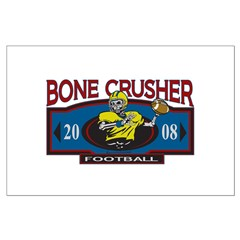 Bone Crusher Football Posters