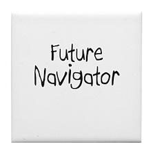Future Navigator Tile Coaster
