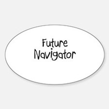 Future Navigator Oval Decal
