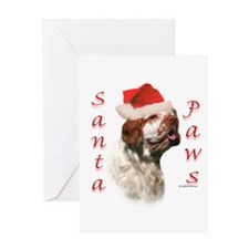 Clumber Paws Greeting Card