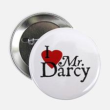 """Jane Austen Heart Darcy 2.25"""" Button"""