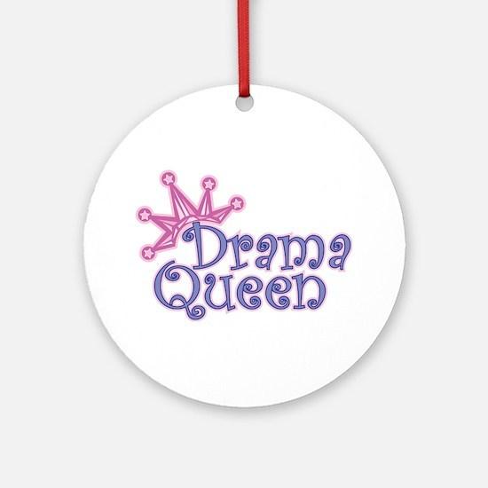 Drama Queen Ornament (Round)