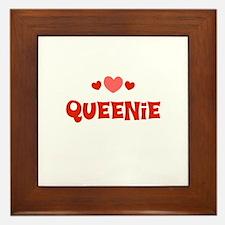 Queenie Framed Tile