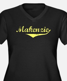 Makenzie Vintage (Gold) Women's Plus Size V-Neck D