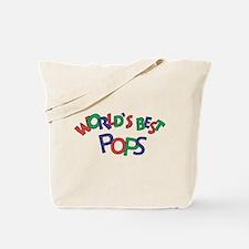 World's Best Pops Tote Bag