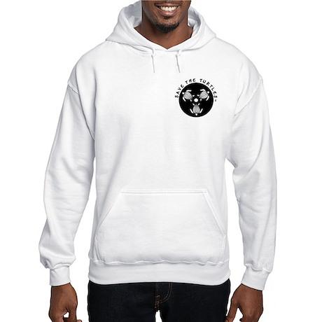 Mens Turtle Loving Hooded Sweatshirt