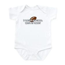 Oakland Football Daddy Infant Bodysuit