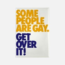 Some People Are Gay Rectangle Magnet