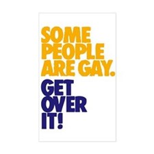 Some People Are Gay Rectangle Decal