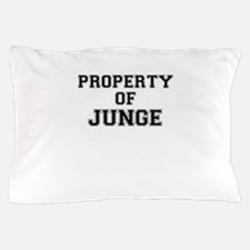 Property of JUNGE Pillow Case