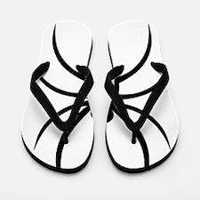 Funny Spider Flip Flops