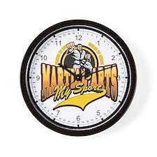 Martial Arts My Sport Wall Clock
