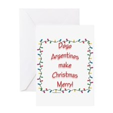 Merry Dogo Greeting Card