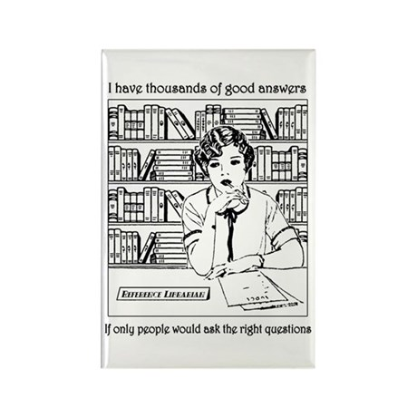 Reference Librarian Rectangle Magnet (10 pack)