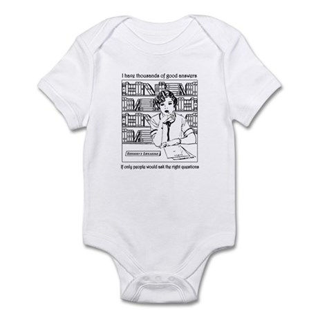 Reference Librarian Infant Bodysuit
