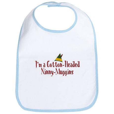 Cotton-Headed Ninny-Muggins Bib