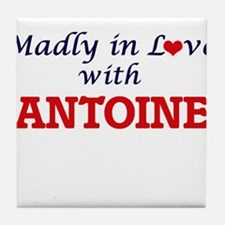 Madly in love with Antoine Tile Coaster