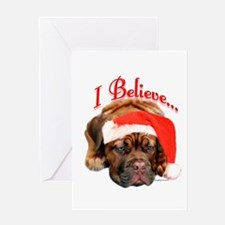 Dogue Believe Greeting Card