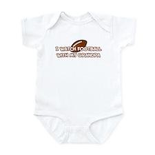 San Francisco Football Grandpa Infant Bodysuit