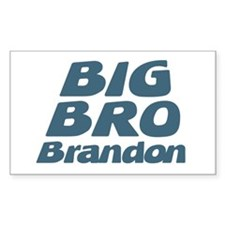 Big Bro Brandon Rectangle Decal