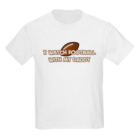 San Francisco Football Daddy Kids Light T-Shirt
