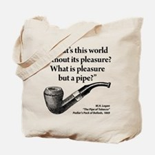 Pipe Smoker IX Tote Bag