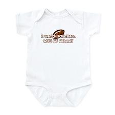 San Francisco Football Mommy Infant Bodysuit