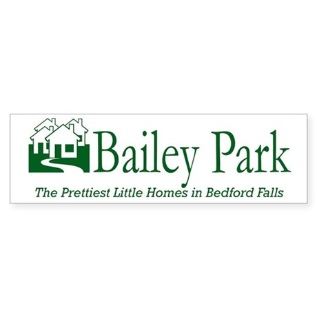 Bailey Park Bumper Sticker