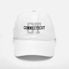 CT Connecticut Baseball Baseball Cap