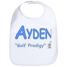 """Ayden """"Golf Prodigy"""" Bib"""