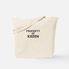 Property of KADEN Tote Bag