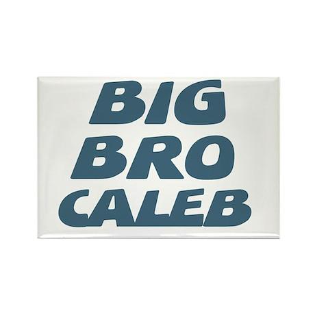 Big Bro Caleb Rectangle Magnet