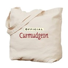 Official Curmudgeon -  Tote Bag