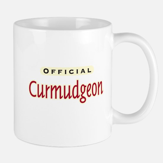 Official Curmudgeon -  Mug