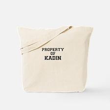Property of KADIN Tote Bag