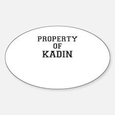 Property of KADIN Decal