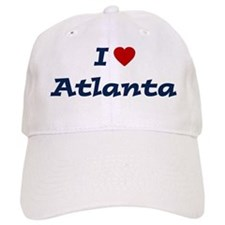 I HEART ATLANTA Baseball Cap
